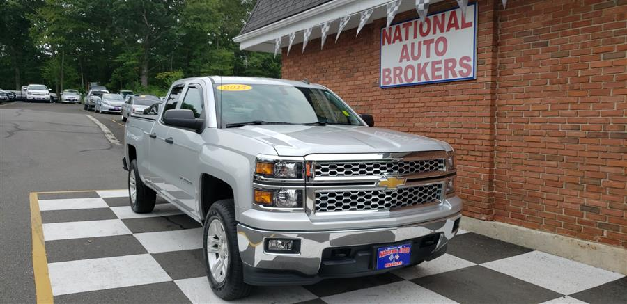 2014 Chevrolet Silverado 1500 4WD Double Cab 2LT, available for sale in Waterbury, Connecticut | National Auto Brokers, Inc.. Waterbury, Connecticut