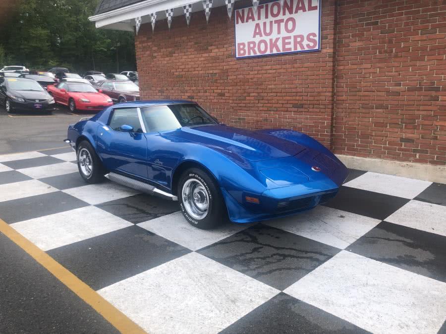 Used Chevrolet Corvette 2 Door Coupe 1973 | National Auto Brokers, Inc.. Waterbury, Connecticut