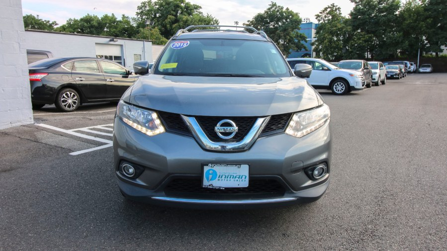 2015 Nissan Rogue AWD 4dr SL, available for sale in Medford, Massachusetts | Inman Motors Sales. Medford, Massachusetts