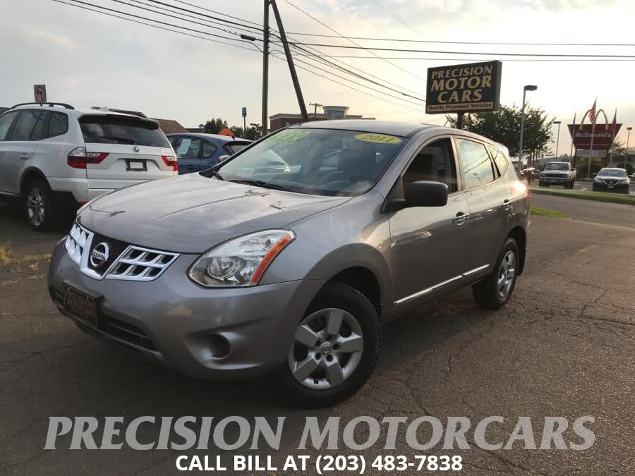 Used Nissan Rogue AWD 4dr SV 2011 | Precision Motor Cars LLC. Branford, Connecticut