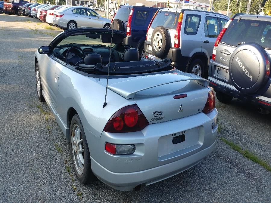 2002 Mitsubishi Eclipse 2dr Conv Spyder GT 3.0L Sportronic, available for sale in Chicopee, Massachusetts | Matts Auto Mall LLC. Chicopee, Massachusetts
