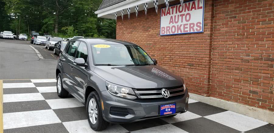 Used Volkswagen Tiguan 4MOTION 4dr Auto S 2014 | National Auto Brokers, Inc.. Waterbury, Connecticut
