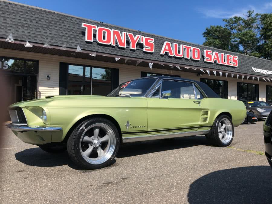 Used Ford Mustang 2 door coupe 1967 | Tony's Auto Sales. Waterbury, Connecticut