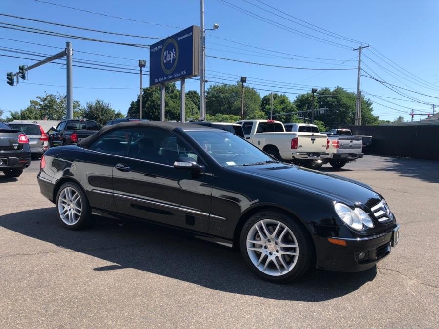 2008 Mercedes-Benz CLK-Class 2dr Cabriolet 3.5L, available for sale in Milford, Connecticut | Chip's Auto Sales Inc. Milford, Connecticut