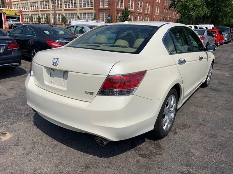 Used Honda Accord EX L V6 4dr Sedan 5A 2008 | Mass Auto Exchange. Framingham, Massachusetts