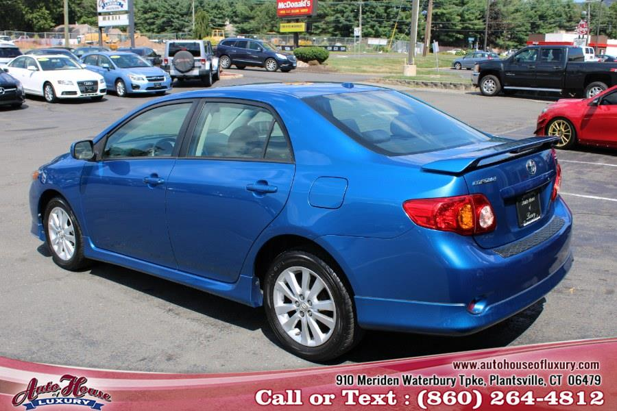 Used Toyota Corolla 4dr Sdn Auto S (Natl) 2010 | Auto House of Luxury. Plantsville, Connecticut