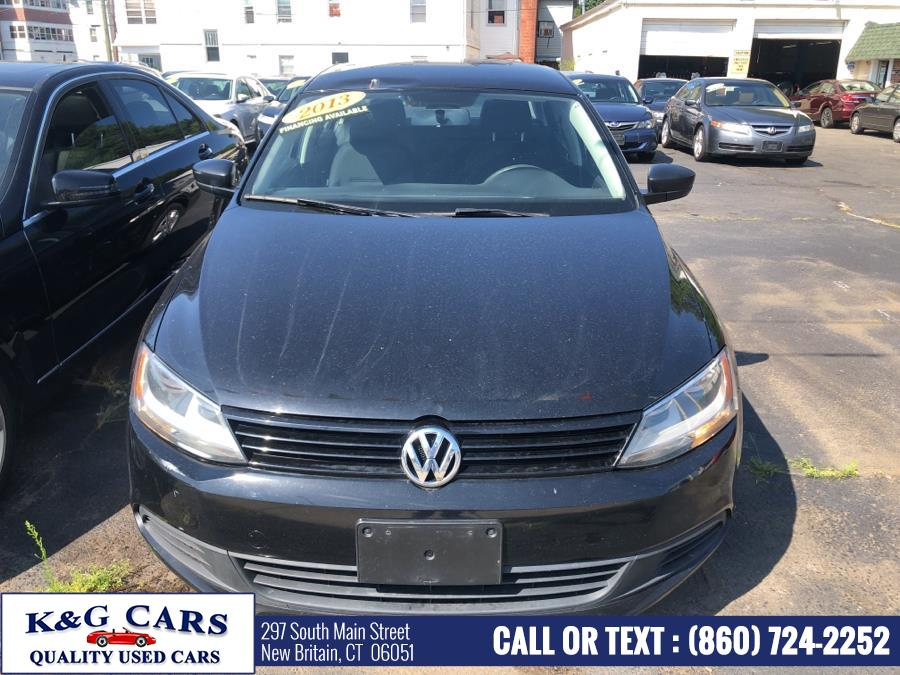 Used Volkswagen Jetta Sedan 4dr Auto Base 2013 | K and G Cars . New Britain, Connecticut