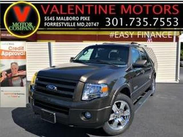 2008 Ford Expedition El Limited, available for sale in Forestville, Maryland | Valentine Motor Company. Forestville, Maryland