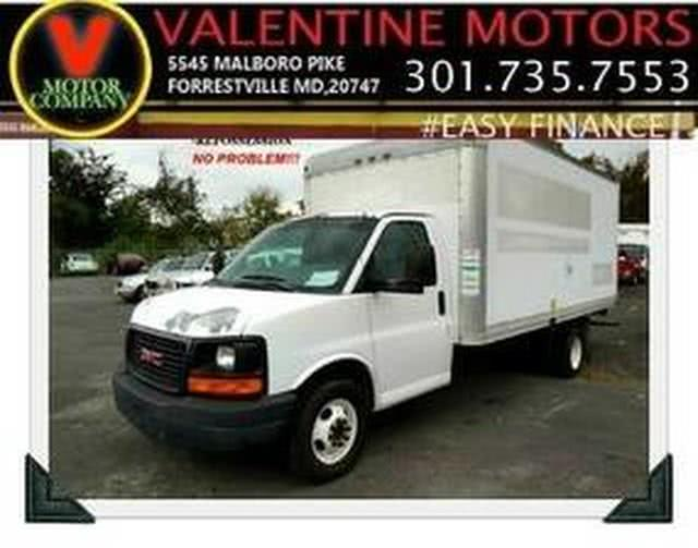 Used 2005 GMC Savana Cutaway in Forestville, Maryland | Valentine Motor Company. Forestville, Maryland