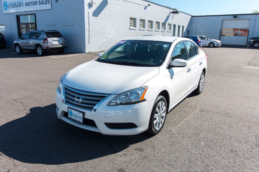 2014 Nissan Sentra 4dr Sdn I4 CVT SV, available for sale in Medford, Massachusetts | Inman Motors Sales. Medford, Massachusetts