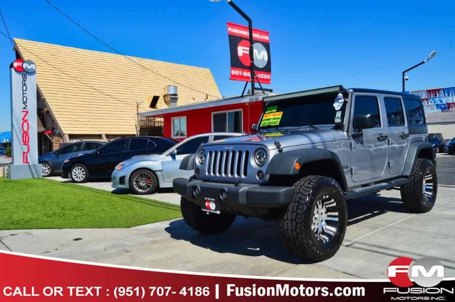 2013 Jeep Wrangler Unlimited 4WD 4dr Sport, available for sale in Moreno Valley, CA