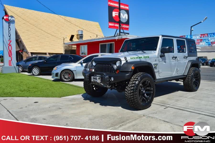 Used Jeep Wrangler Unlimited 4WD 4dr Rubicon 2012 | Fusion Motors Inc. Moreno Valley, California