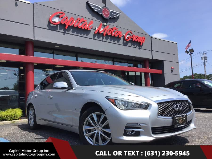 Used 2014 Infiniti Q50 in Medford, New York | Capital Motor Group Inc. Medford, New York