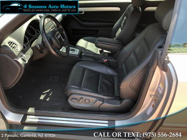 2009 Audi A4 2.0T Cabriolet, available for sale in Garfield, New Jersey   4 Seasons Auto Motors. Garfield, New Jersey