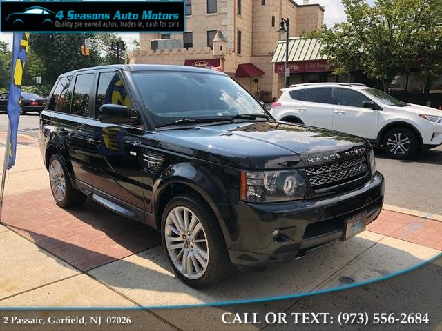 2012 Land Rover Range Rover Sport HSE, available for sale in Garfield, New Jersey | 4 Seasons Auto Motors. Garfield, New Jersey