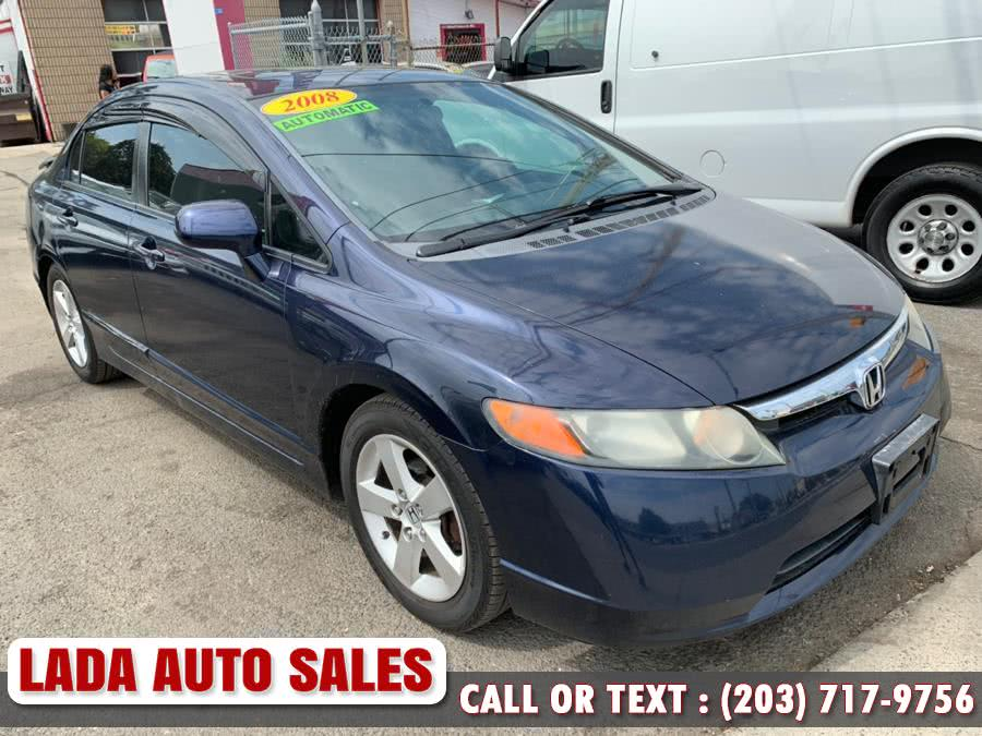 2008 Honda Civic Sdn 4dr Auto EX, available for sale in Bridgeport, CT