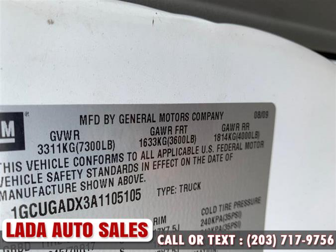 2010 Chevrolet Express Cargo Van RWD 1500 135