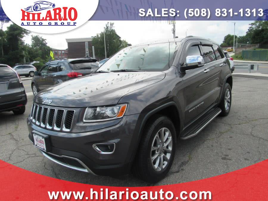 Used Jeep Grand Cherokee 4WD 4dr Limited 2014 | Hilario's Auto Sales Inc.. Worcester, Massachusetts