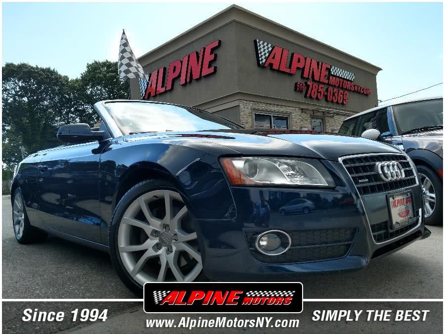 Used 2011 Audi A5 in Wantagh, New York | Alpine Motors Inc. Wantagh, New York