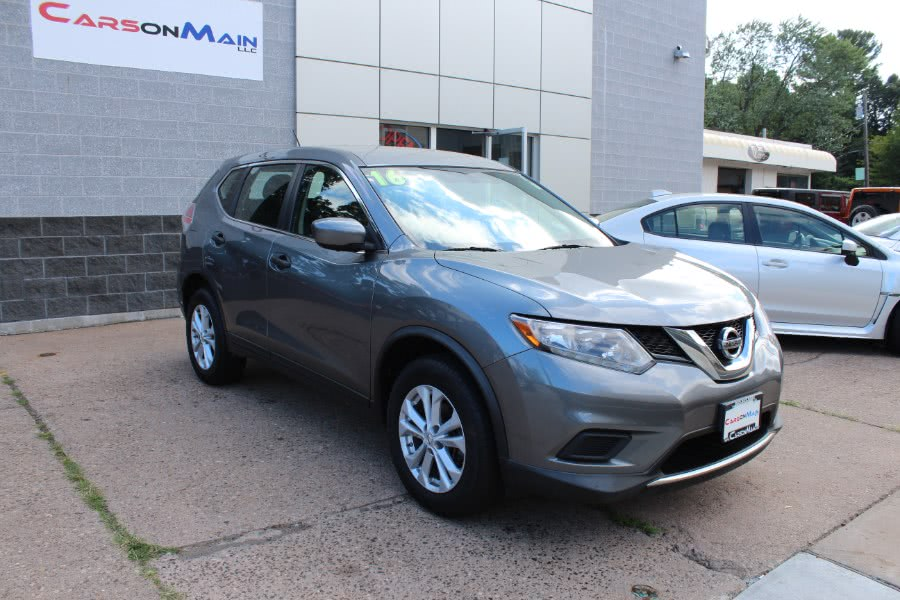 Used 2016 Nissan Rogue in Manchester, Connecticut | Carsonmain LLC. Manchester, Connecticut