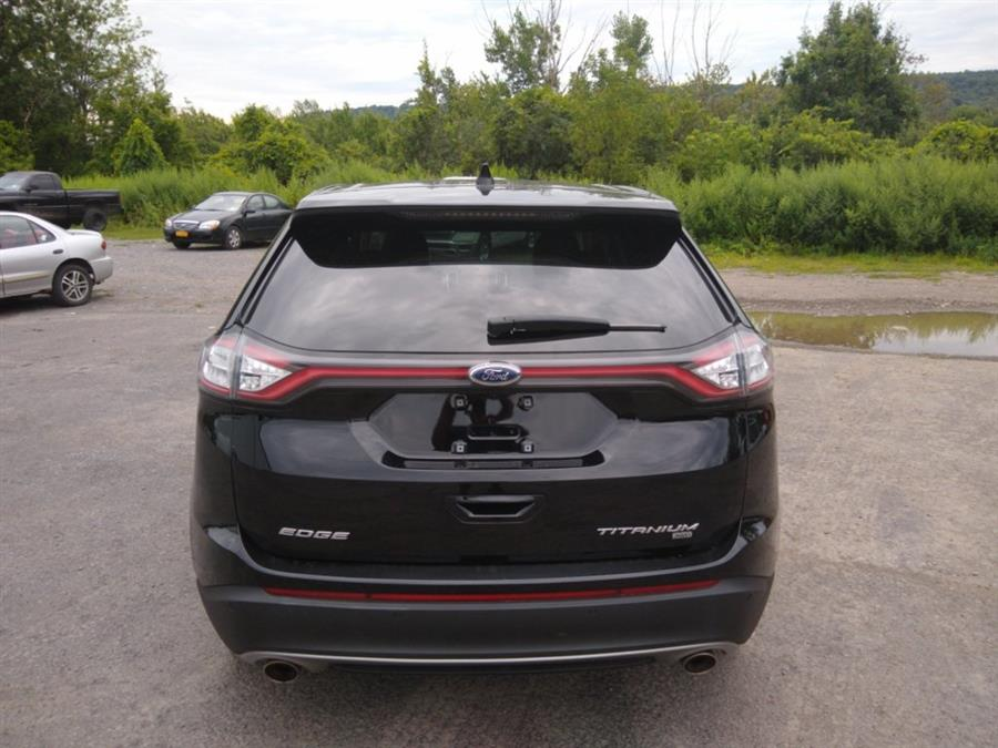 2018 Ford Edge Titanium, available for sale in Watertown, New York | FX Caprara Used Car Center. Watertown, New York