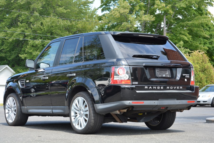 2010 Land Rover Range Rover Sport 4WD 4dr HSE LUX, available for sale in ENFIELD, Connecticut | Longmeadow Motor Cars. ENFIELD, Connecticut