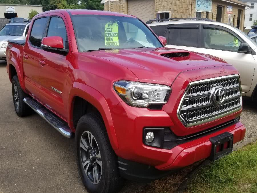 2016 Toyota Tacoma 4WD Double Cab V6 AT SR5 (Natl), available for sale in Old Saybrook, Connecticut | Saybrook Leasing and Rental LLC. Old Saybrook, Connecticut