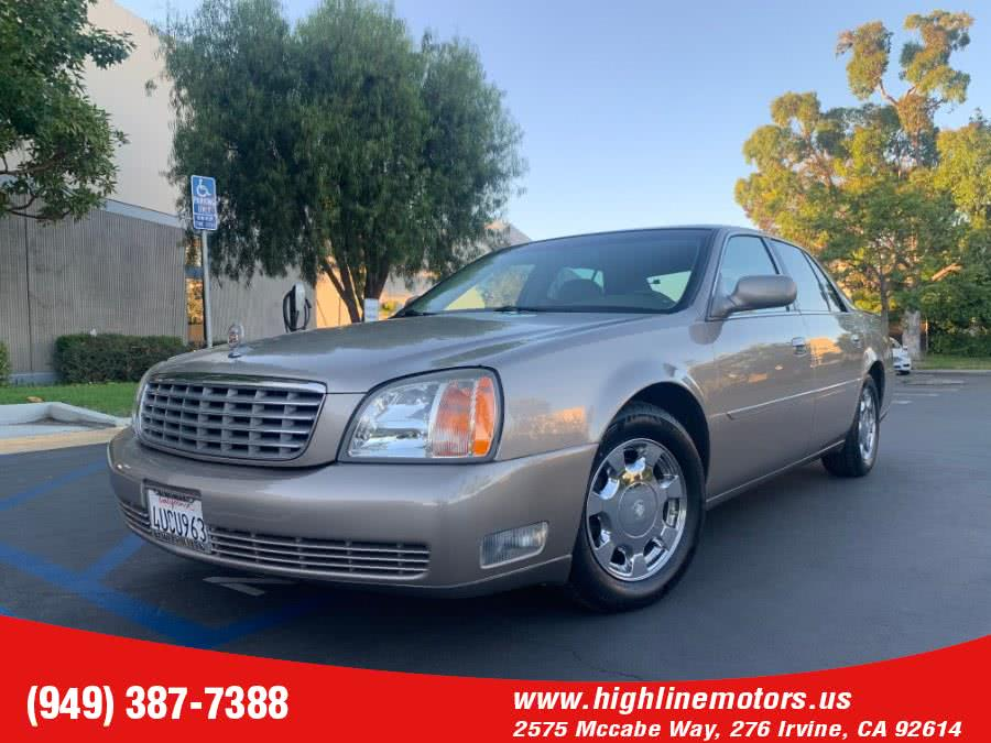 Used 2001 Cadillac DeVille in Irvine, California | High Line Motors LLC. Irvine, California