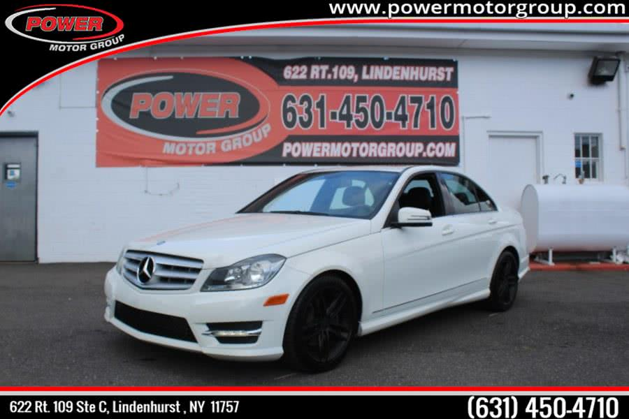 Used Mercedes-Benz C-Class 4dr Sdn C300 Luxury 4MATIC 2012 | Power Motor Group. Lindenhurst , New York