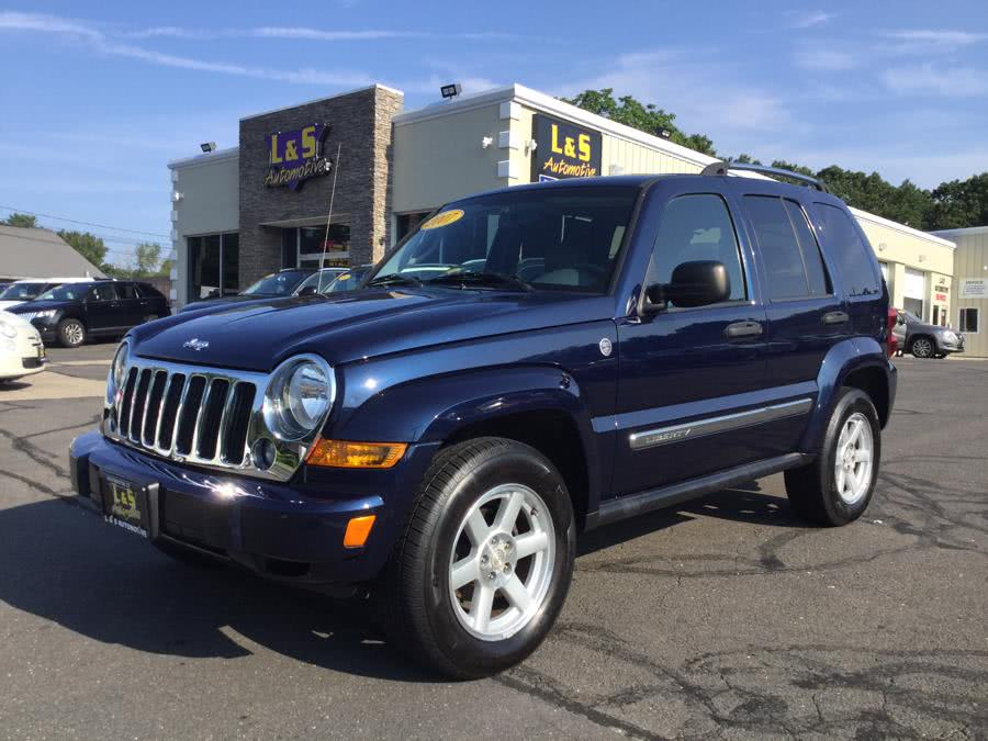 2007 Jeep Liberty 4WD 4dr Limited, available for sale in Plantsville, Connecticut | L&S Automotive LLC. Plantsville, Connecticut