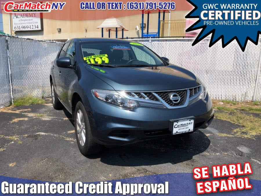 2012 Nissan Murano AWD 4dr SL, available for sale in Bayshore, New York | Carmatch NY. Bayshore, New York