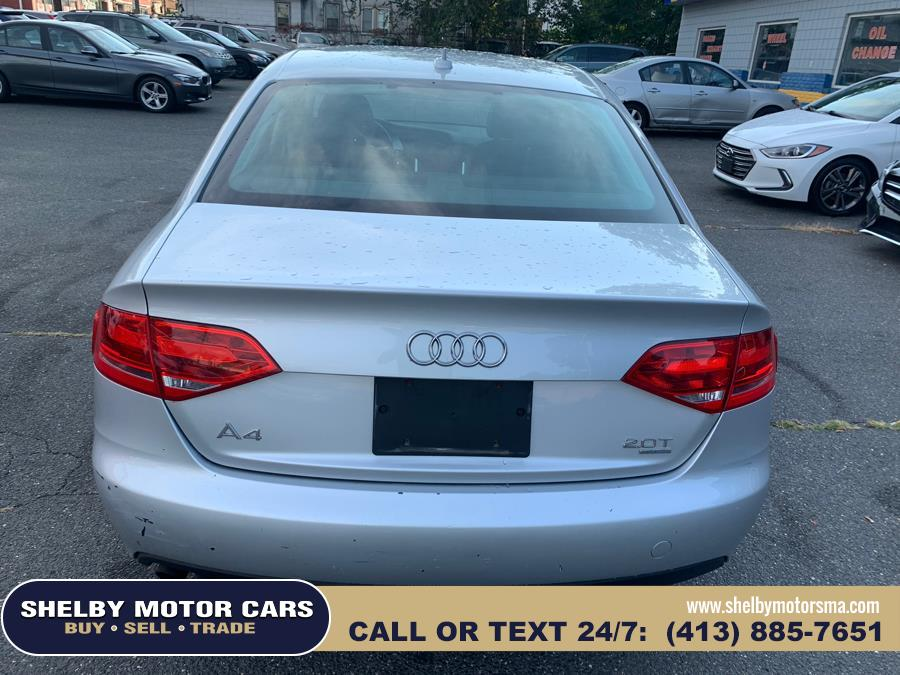 2009 Audi A4 4dr Sdn Auto 2.0T quattro Prem, available for sale in Springfield, Massachusetts | Shelby Motor Cars . Springfield, Massachusetts