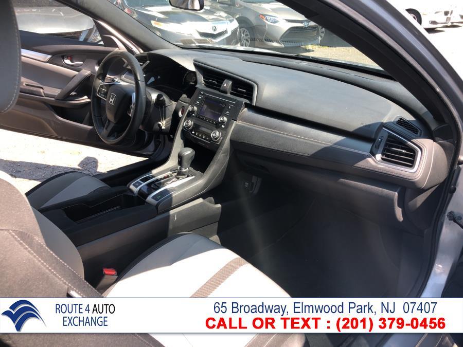 Used Honda Civic Coupe 2dr CVT LX-P 2016 | Route 4 Auto Exchange. Elmwood Park, New Jersey