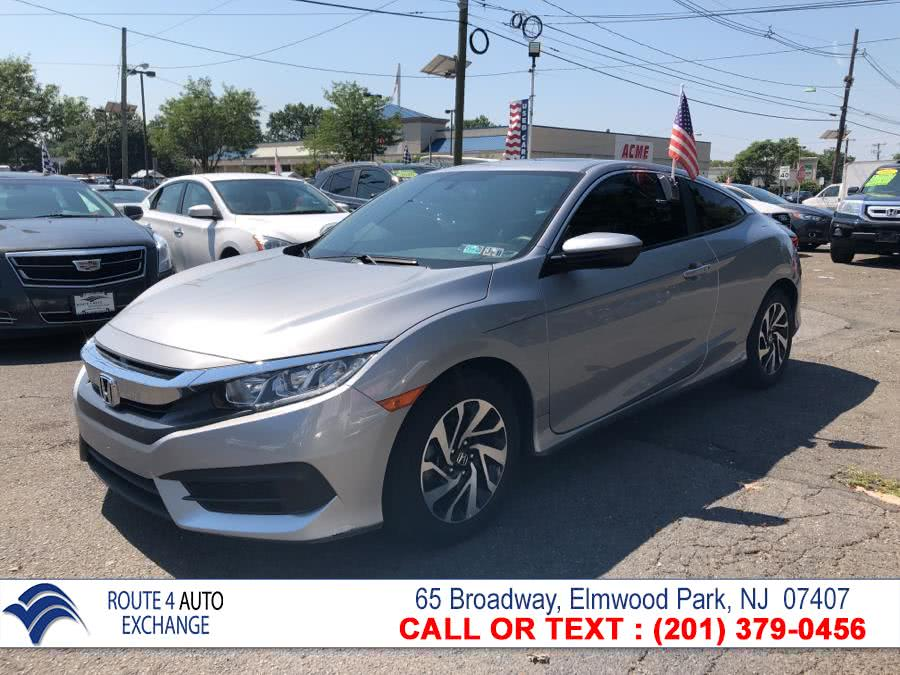 2016 Honda Civic Coupe 2dr CVT LX-P, available for sale in Elmwood Park, New Jersey | Route 4 Auto Exchange. Elmwood Park, New Jersey