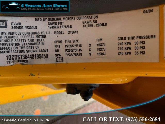 2004 Chevrolet Colorado LS, available for sale in Garfield, New Jersey | 4 Seasons Auto Motors. Garfield, New Jersey