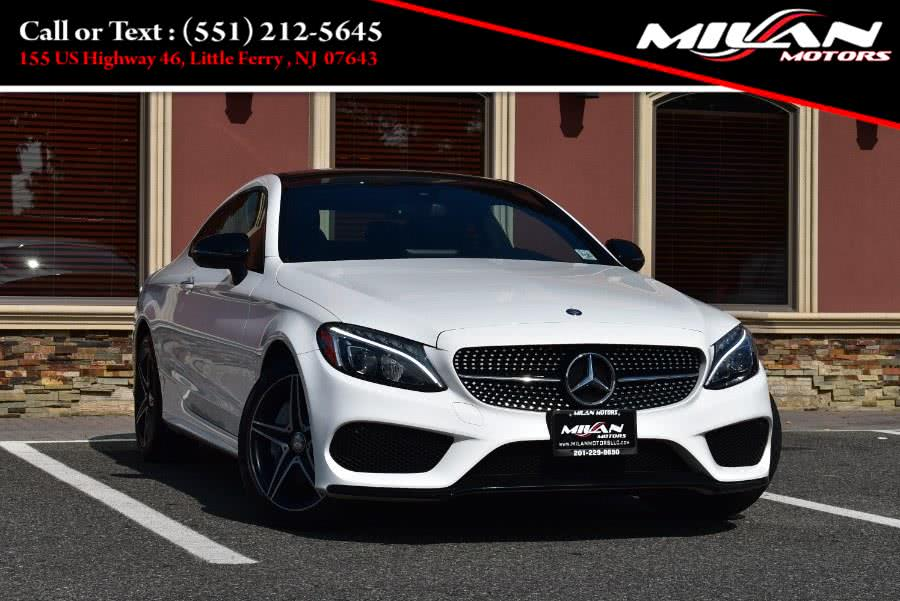 Used Mercedes-Benz C-Class C 300 4MATIC Coupe 2017 | Milan Motors. Little Ferry , New Jersey