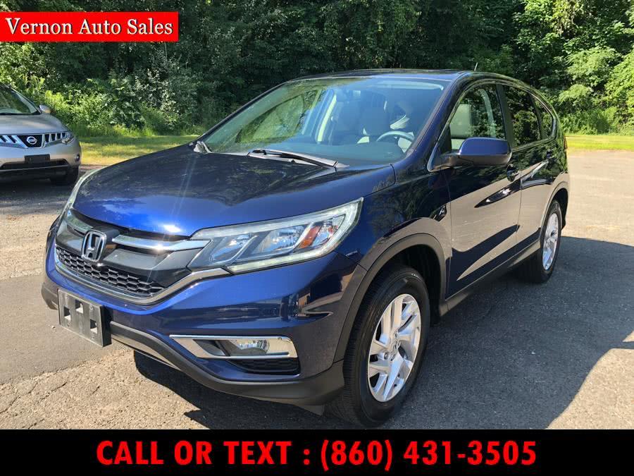 Used 2015 Honda CR-V in Vernon, Connecticut | Vernon Auto Sale & Service. Vernon, Connecticut