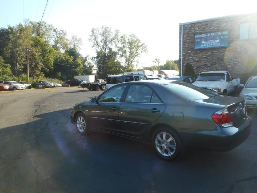 Used Toyota Camry 4dr Sdn XLE V6 Auto (Natl) 2005 | Wholesale Motorcars LLC. Newington, Connecticut