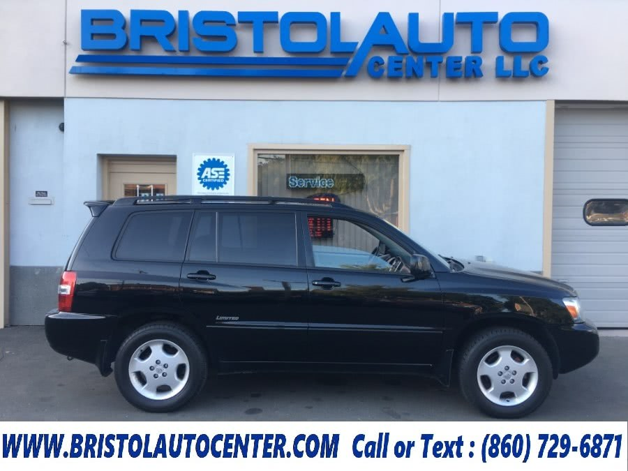 Used 2007 Toyota Highlander in Bristol, Connecticut | Bristol Auto Center LLC. Bristol, Connecticut