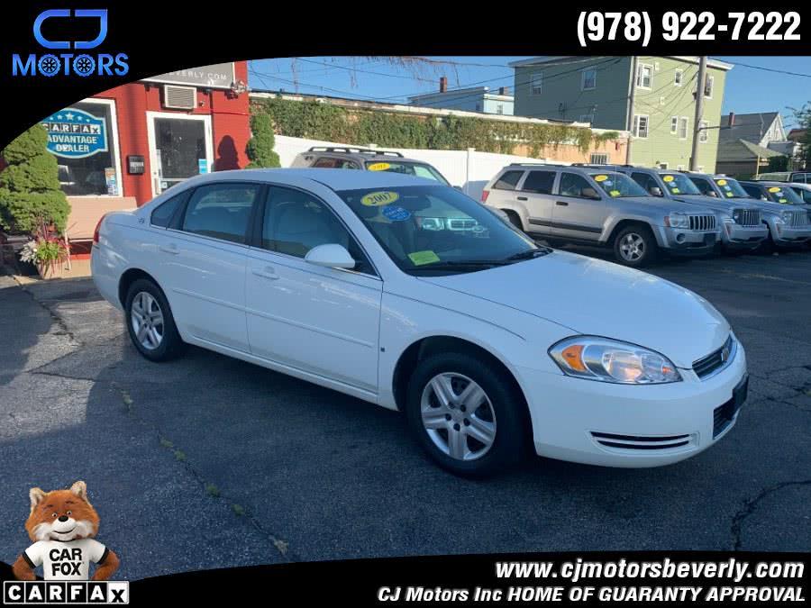 Used 2007 Chevrolet Impala in Beverly, Massachusetts | CJ Motors Inc. Beverly, Massachusetts