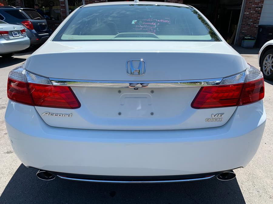 2014 Honda Accord Sedan 4dr V6 Auto EX-L w/Navi, available for sale in New Britain, Connecticut | Central Auto Sales & Service. New Britain, Connecticut