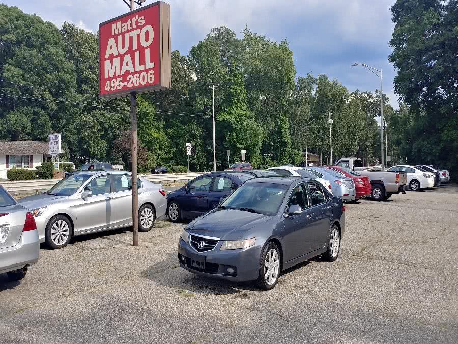 Used 2005 Acura TSX in Chicopee, Massachusetts | Matts Auto Mall LLC. Chicopee, Massachusetts