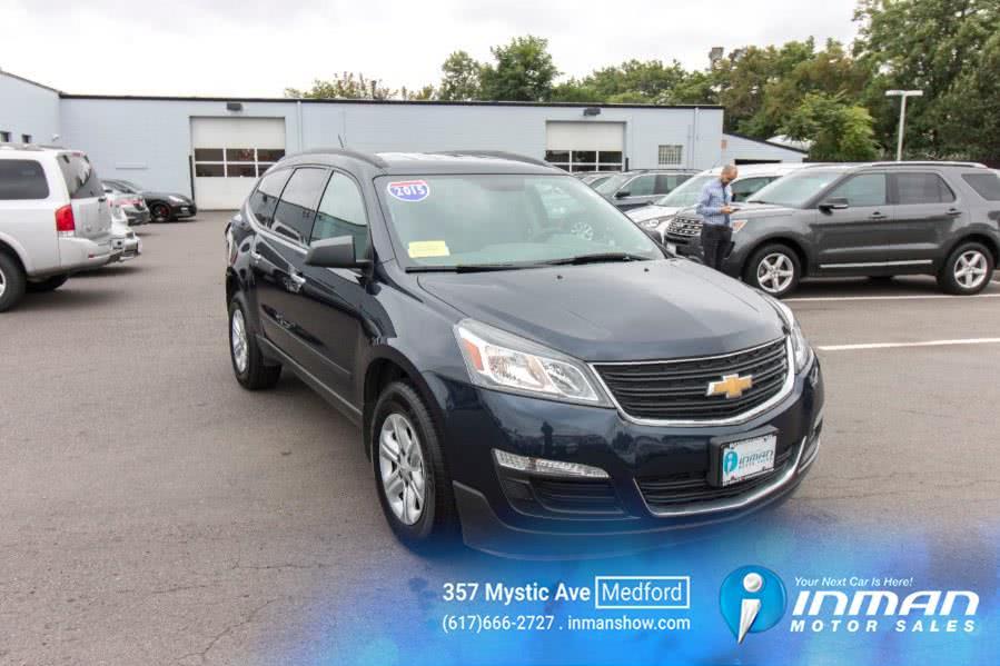 Used 2015 Chevrolet Traverse in Medford, Massachusetts | Inman Motors Sales. Medford, Massachusetts