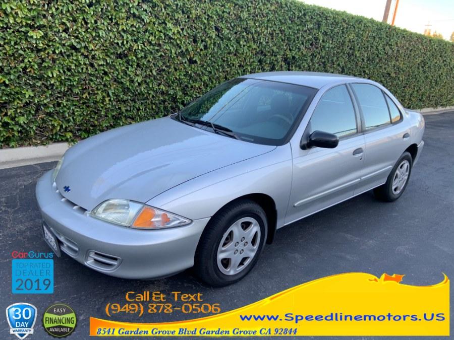 Used Chevrolet Cavalier 4dr Sdn LS 2002 | Speedline Motors. Garden Grove, California