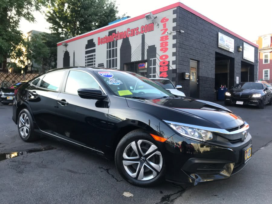 Used 2016 Honda Civic Sedan in Chelsea, Massachusetts | Boston Prime Cars Inc. Chelsea, Massachusetts