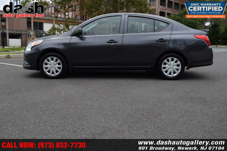 2015 Nissan Versa 4dr Sdn CVT 1.6 SV, available for sale in Newark, New Jersey | Dash Auto Gallery Inc.. Newark, New Jersey