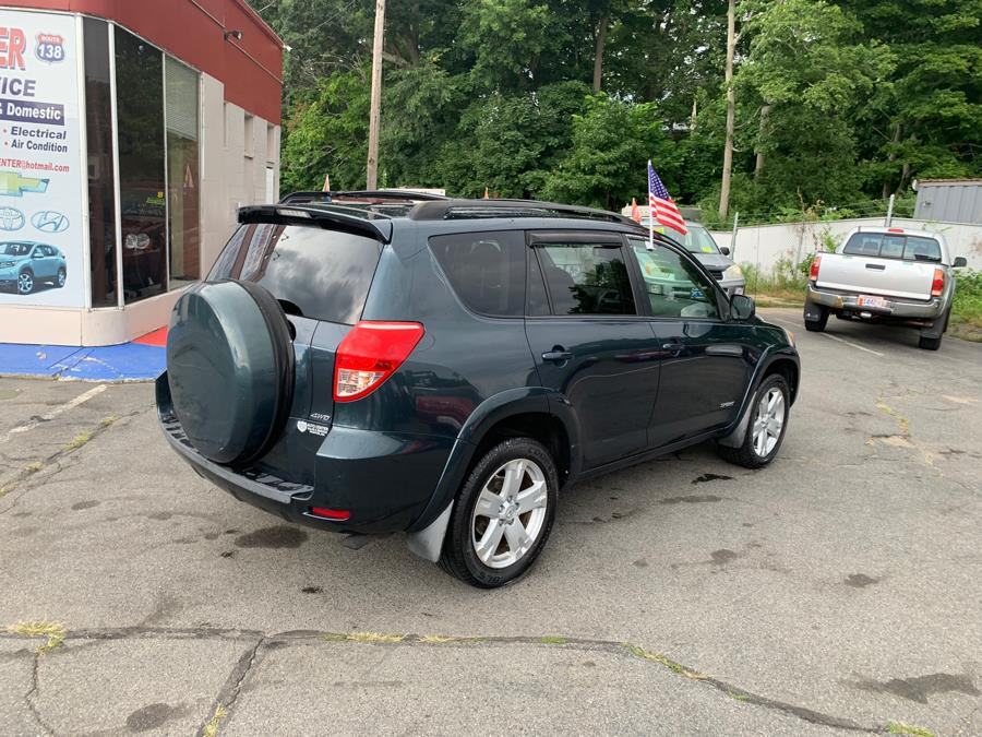 2008 Toyota RAV4 4WD 4dr 4-cyl 4-Spd AT Sport (Natl), available for sale in Taunton, Massachusetts | Rt 138 Auto Center Inc . Taunton, Massachusetts