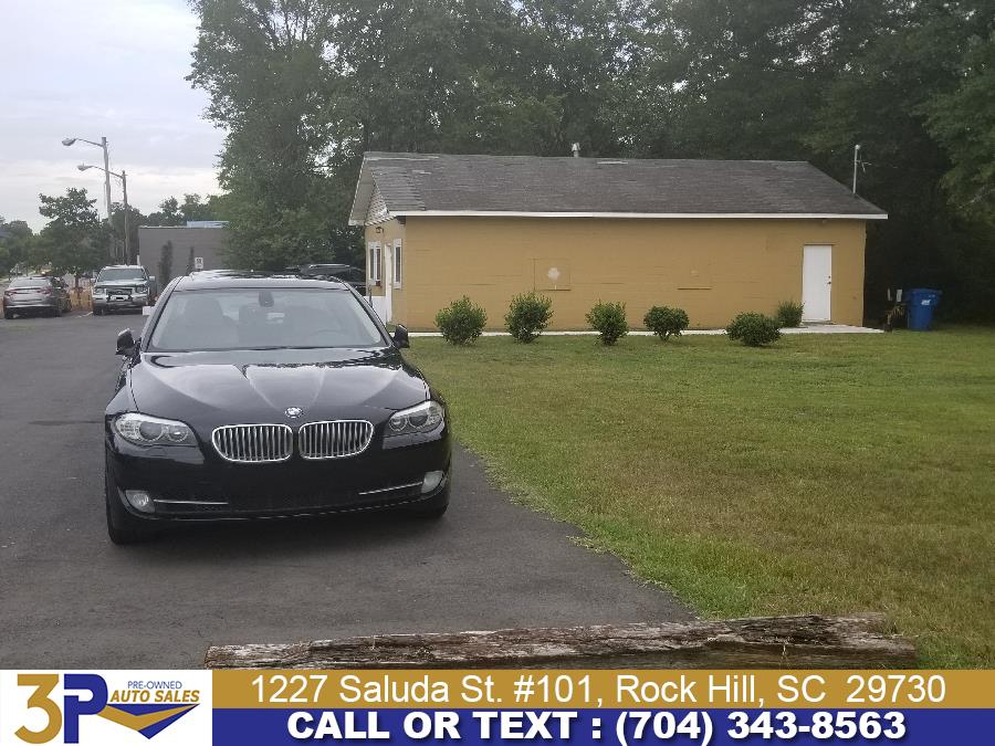 Used BMW 5 Series 4dr Sdn 550i RWD 2011 | 3 Points Auto Sales. Rock Hill, South Carolina