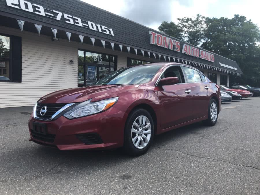 Used 2016 Nissan Altima in Waterbury, Connecticut | Tony's Auto Sales. Waterbury, Connecticut