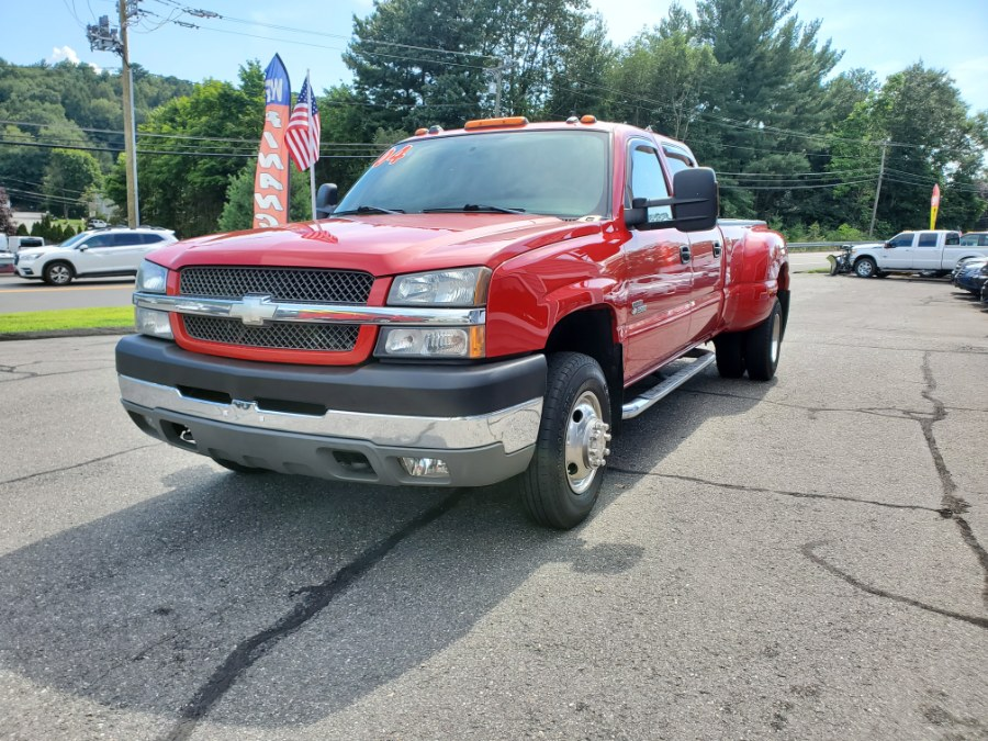 "2004 Chevrolet Silverado 3500 Crew Cab LT 167"" WB 4WD DRW, available for sale in Thomaston, CT"